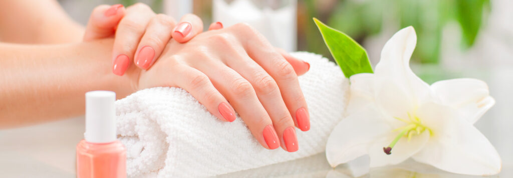 Learn more about Domain Nails and Spa relaxing environment and high quality services.
